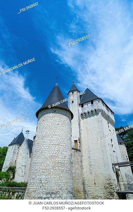 Rivau Castle, Lémeré, Indre-et-Loire Department, The Loire Valley, France, Europe