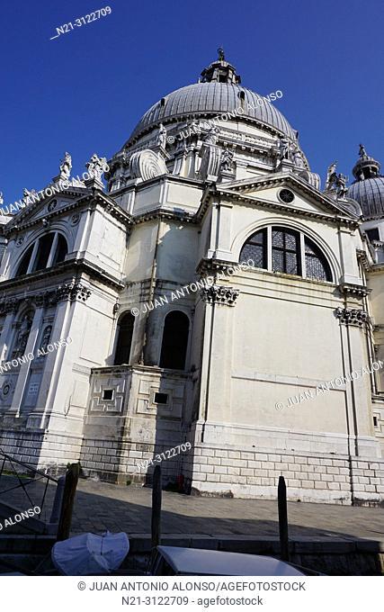 Santa Maria della Salute. Dorsoduro. Venice, Veneto, Italy, Europe