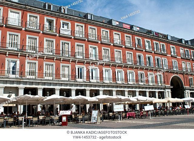 Resturants, Plaza Mayor, Madrid, Spain
