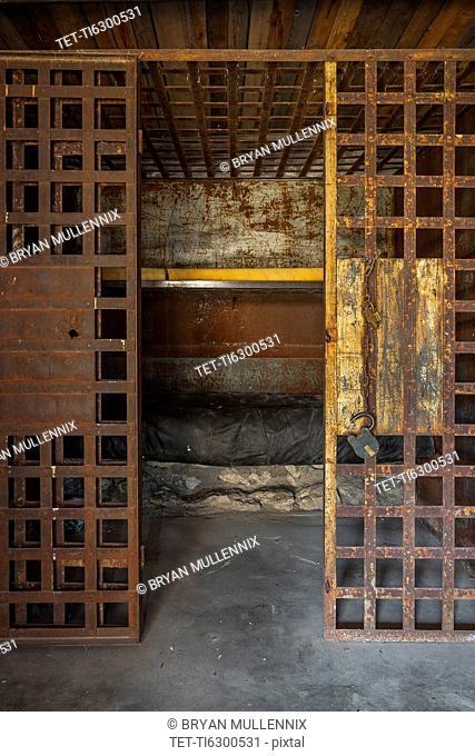 Antique prison cell