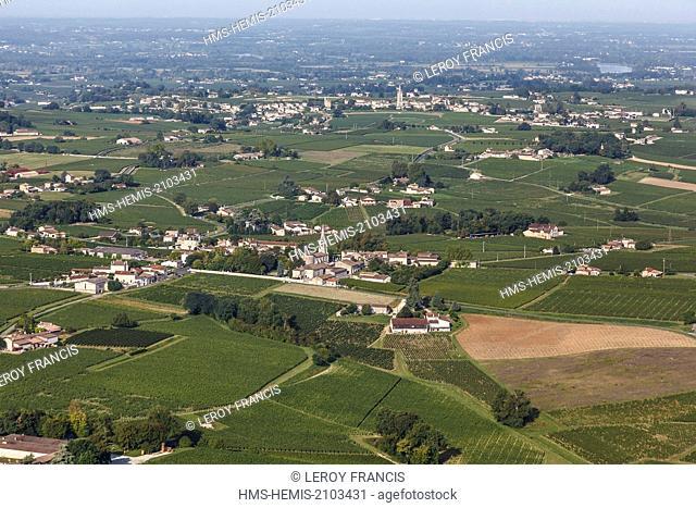 France, Gironde, Saint Christophe des Bardes, Jurisdiction of Saint Emilion, listed as World Heritage by UNESCO, Saint Christophe des Bardes