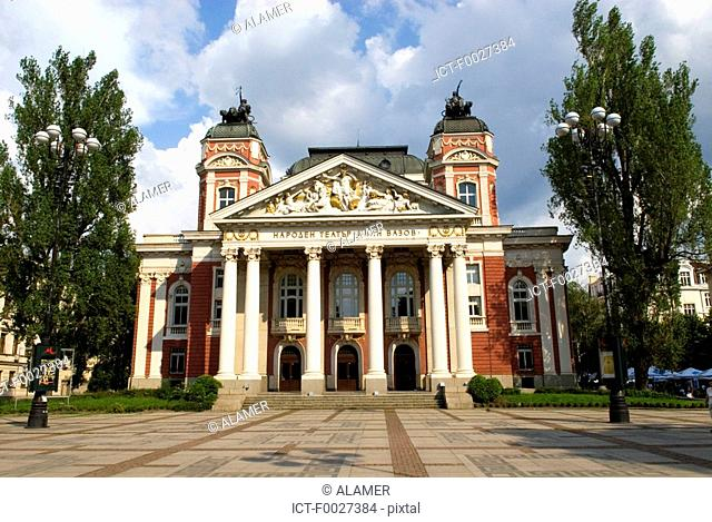 Bulgaria, Sofia, national theatre Ivan Vazov