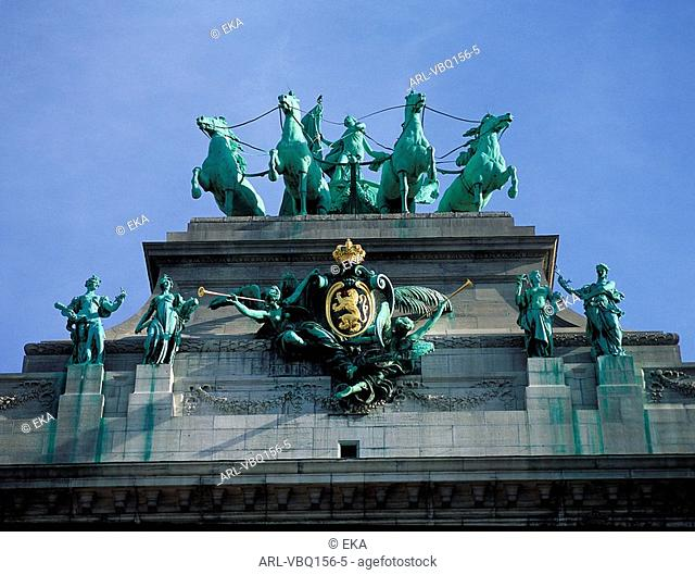 Brussels,Le Cinquantenaire