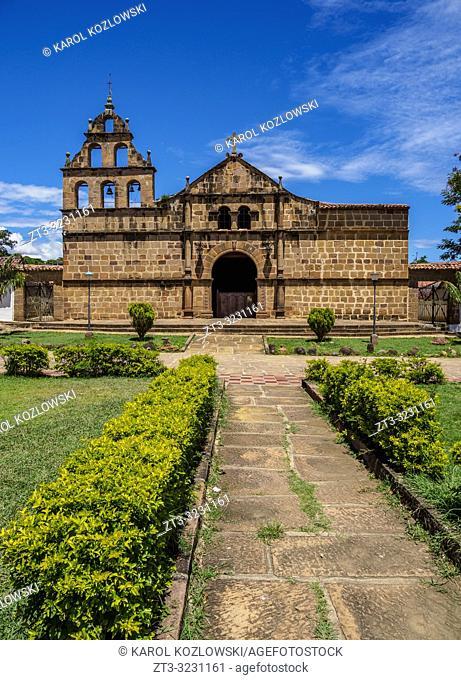 Santa Lucia Church, Guane, Santander Department, Colombia