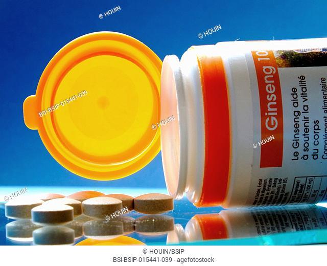 Ginseng-based food supplement