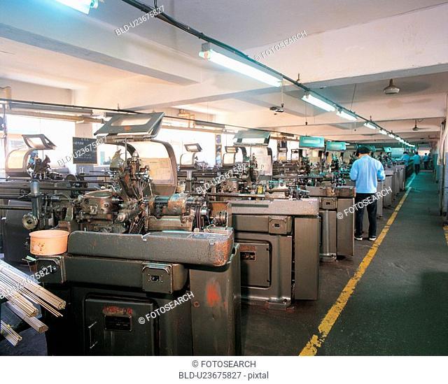 industry, people, human, factory, film
