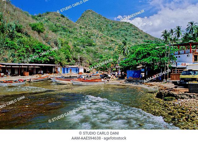 Puerto Colombia, Henri Pittier National Park, Coastal Mountain Range, Venezuela