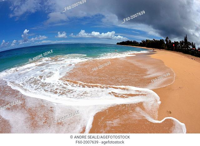 Kee Beach, Kauai, Hawaii, USA