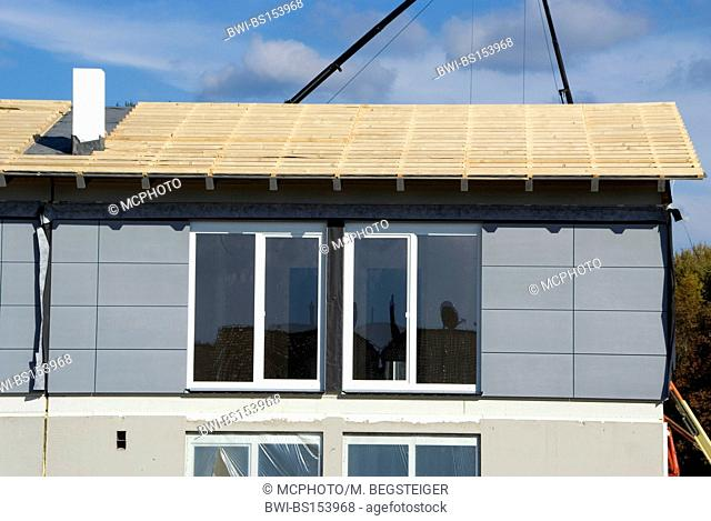 building lot prefabricated house