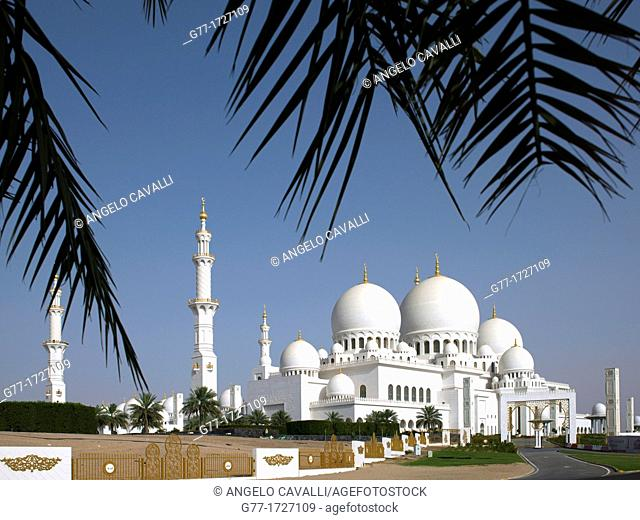 United Arab Emirates  Abu Dhabi  Sheikh Zayed Mosque