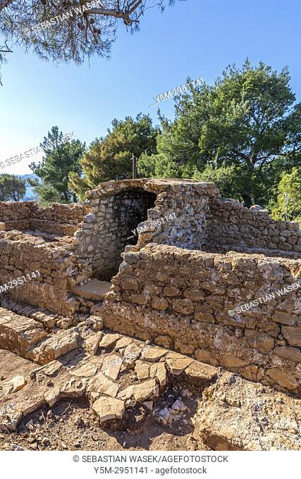 St. John Fortress, Sibenik, Sibensko-Kninska, Dalmatia, Croatia, Europe