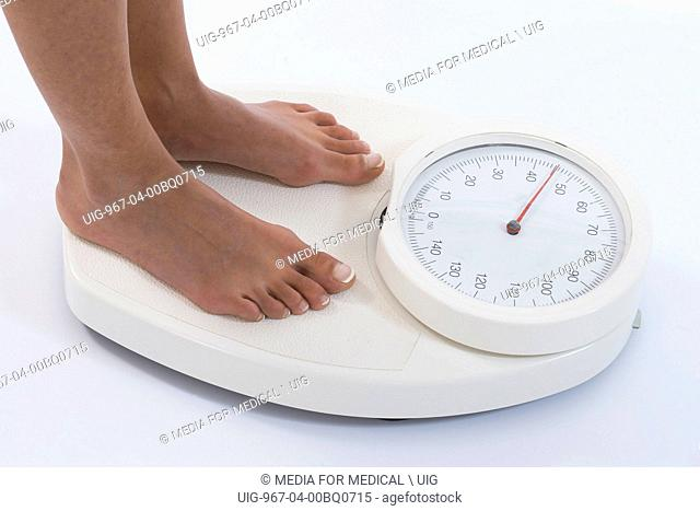 Weight woman