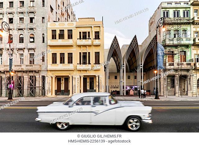 Cuba, Havana, Habana Centro district, Malecon
