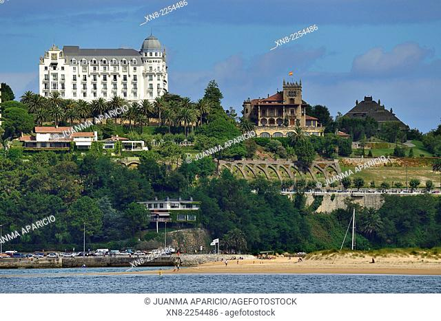 Hotel Real in Santander, Cantabria, Spain, Europe