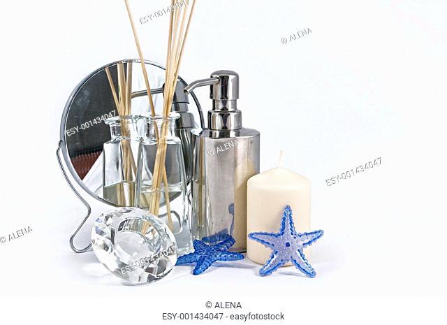Spa Concept, set of aromatherapy