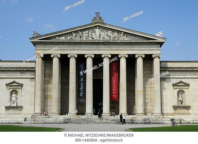 Glyptotek, Munich, Bavaria, Germany, Europe