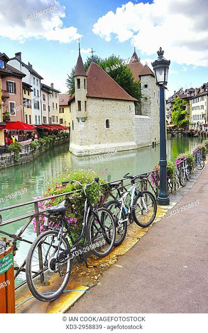 Palais de lâ. . Ile, old town, Annecy, Haute-Savoie department, Auvergne-Rhône-Alpes, France
