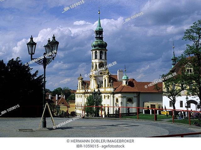 Loreto Church, Prague, Czechia, Europe