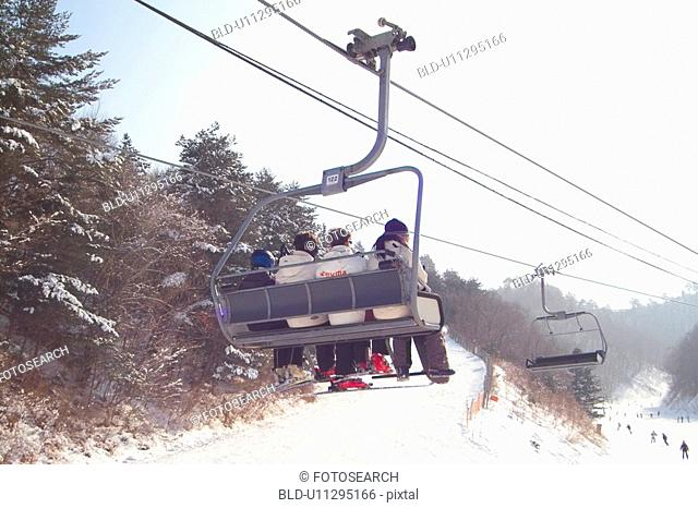 slope, lift, recreation, lifestyle, snow, winter