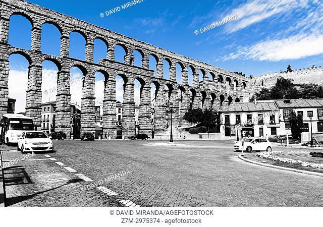 Roman Aqueduct of Segovia, Castilla-León, Spain