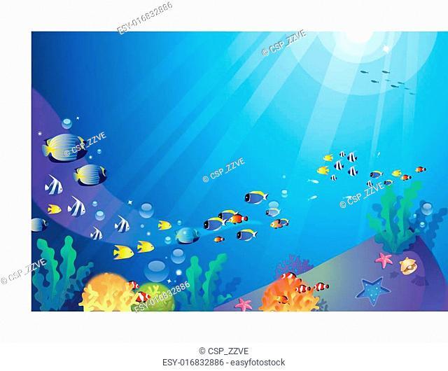 Underwater sealife