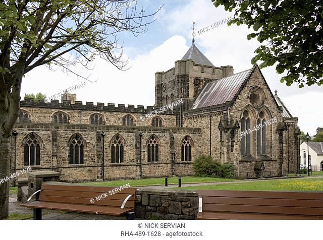 Bangor Cathedral, Wales, United Kingdom, Europe