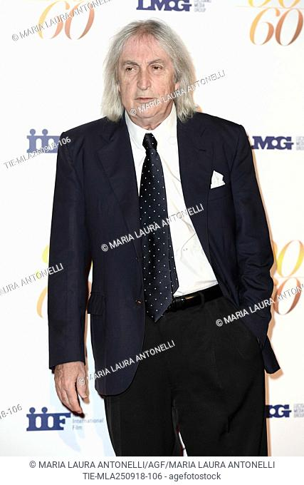 Director Enrico Vanzina during red carpet of 60/90 party, for 60 years of career and ninetieth birthday of Fulvio Lucisano, Italian Film Producer
