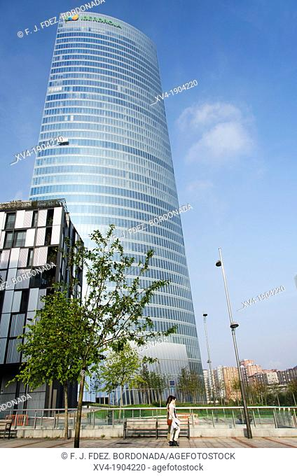Iberdrola tower in Bilbao, Basque Country, Spain