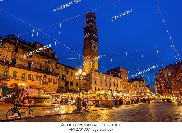 Verona Christmas Markets ,Verona province, Veneto district, Italy