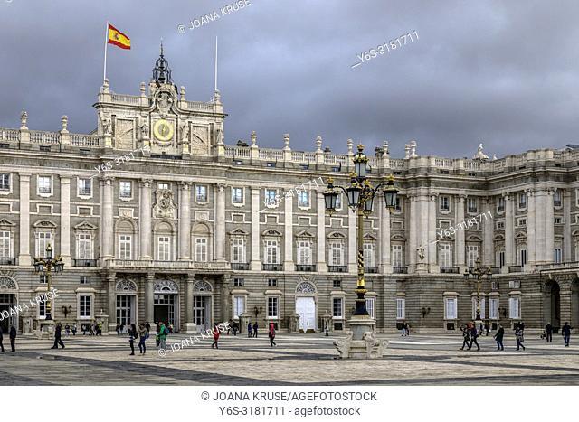 Madrid, Royal Palace, Spain, Europe