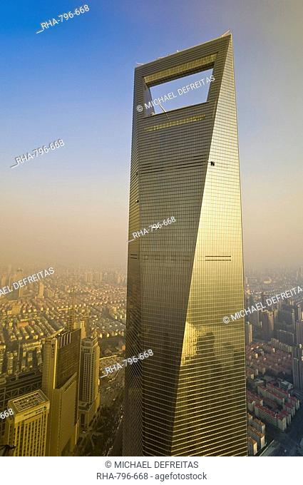 The Shanghai World Financial Center, Shanghai, China