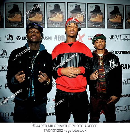 Cali Swag District attends the Brand X Launch at the El Rey Theatre on December 19, 2013 in Los Angeles, California