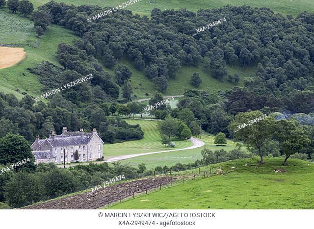 An Estate Near Tomintoul, Cairngorms National Park, Scotland, UK