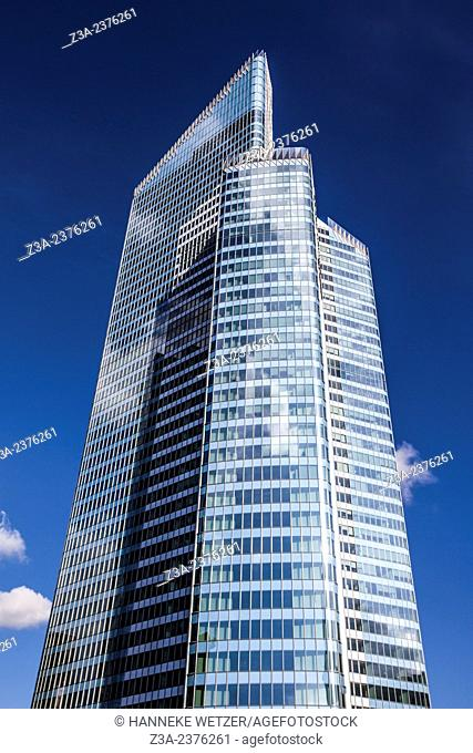 Euler Hermes Headquarters, skyscraper of La Défense, Europe's largest purpose-built business district, Paris, France
