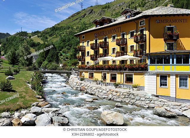 Hotel Le Miramonti in La Thuile, Aosta Valley, Italy, Europe