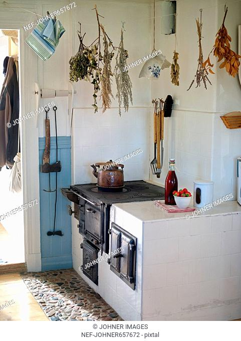 A kitchen in old style
