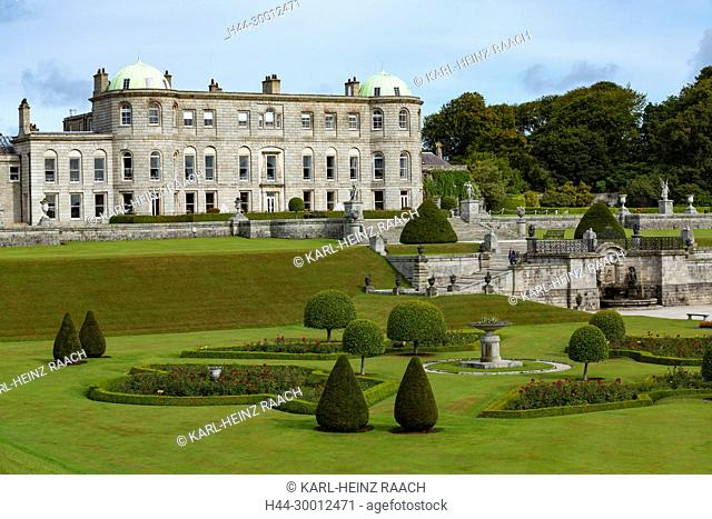 Irland, Powerscourt House and Gardens, County Wicklow