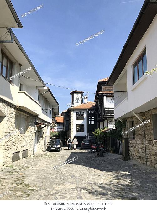 Nesebar, Bulgaria: Seaside resort and ancient old town Nesebar in Bulgaria