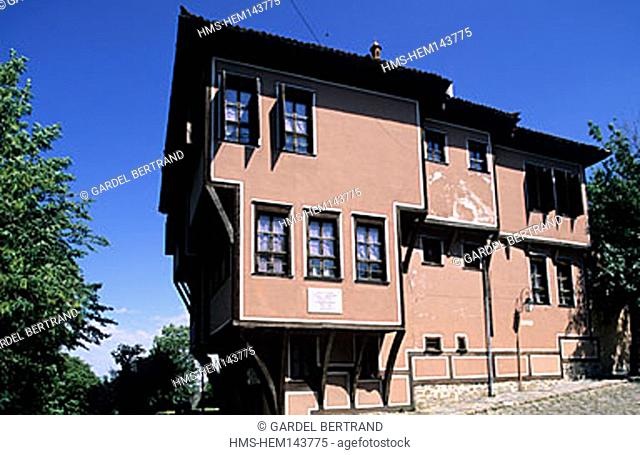 Bulgaria, Thrace region, Plovdiv city, Lamartine house