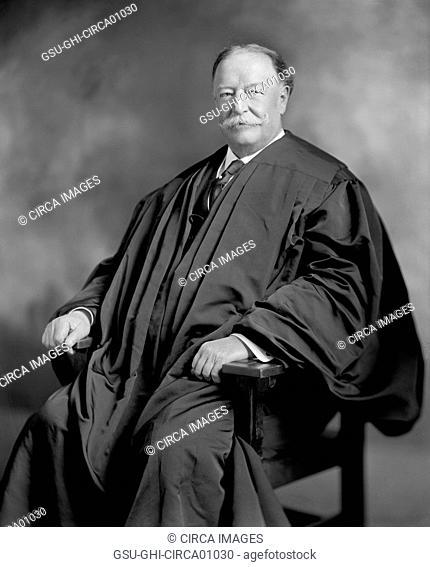 Former U.S. President William Howard Taft as Chief of Supreme Court, Portrait, circa 1920's