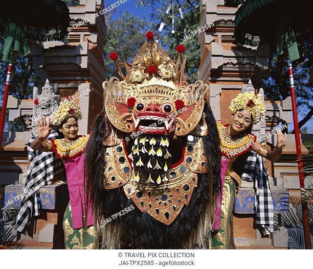 Traditional Dance / Barong & Legong Dancers, Bali, Indonesia