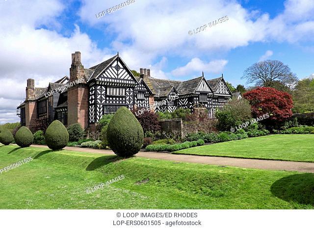 Speke Hall on Merseyside