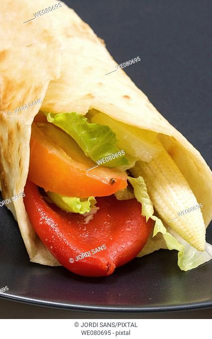 Vegetable 'fajita', Tex-Mex cuisine
