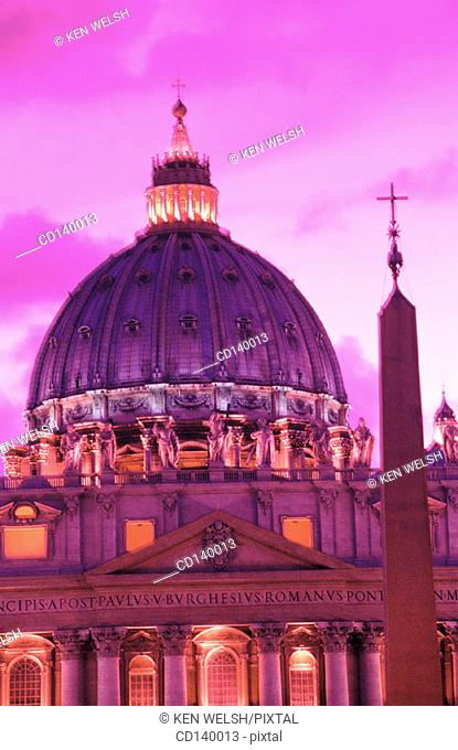 St. Peter's. Rome. Italy