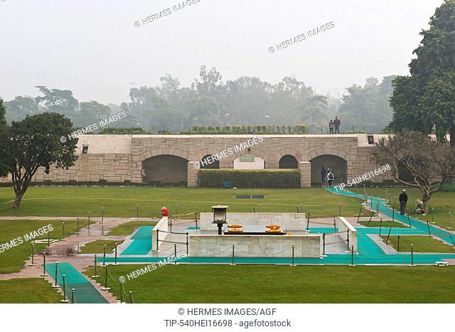 India, New Delhi, Raj Ghat