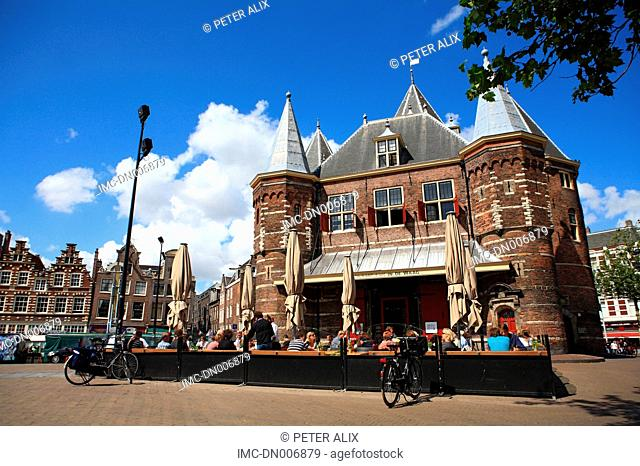 Netherlands, North Holland, Amsterdam, Nieuwmarkt place, De waag
