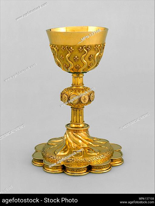 Chalice à soleil. Date: 1532-33; Culture: French, Paris; Medium: Silver gilt; Dimensions: Height: 8 1/4 in. (21 cm); Classification: Metalwork-Silverplate;...
