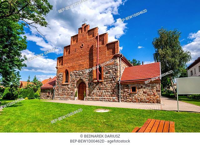 Church of Our Lady of the Queen, Dobra Szczecinska, West Pomeranian Voivodeship, Poland