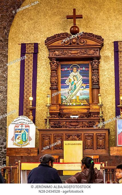 Chapel, Basilica of Our Lady of Guadalupe (Basilica de Nuestra Señora de Guadalupe), Mexico City, Mexico DF, Mexico