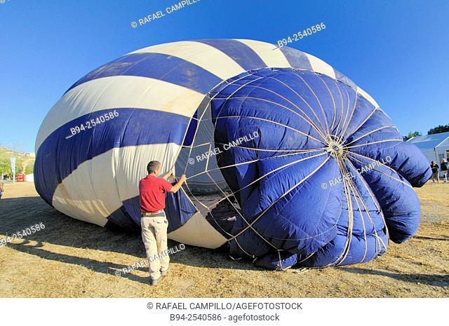 European Balloon Festival. The largest hot air balloon festival in Spain and one of the largest in Europe. Igualada, capital of Anoia Comarca, Barcelona